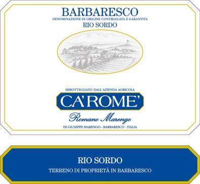 Barbaresco Rio Sordo DOCG